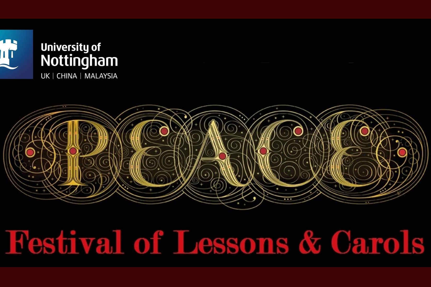 University of Nottingham Online Festival of Lessons & Carols Wednesday 16th December 7pm