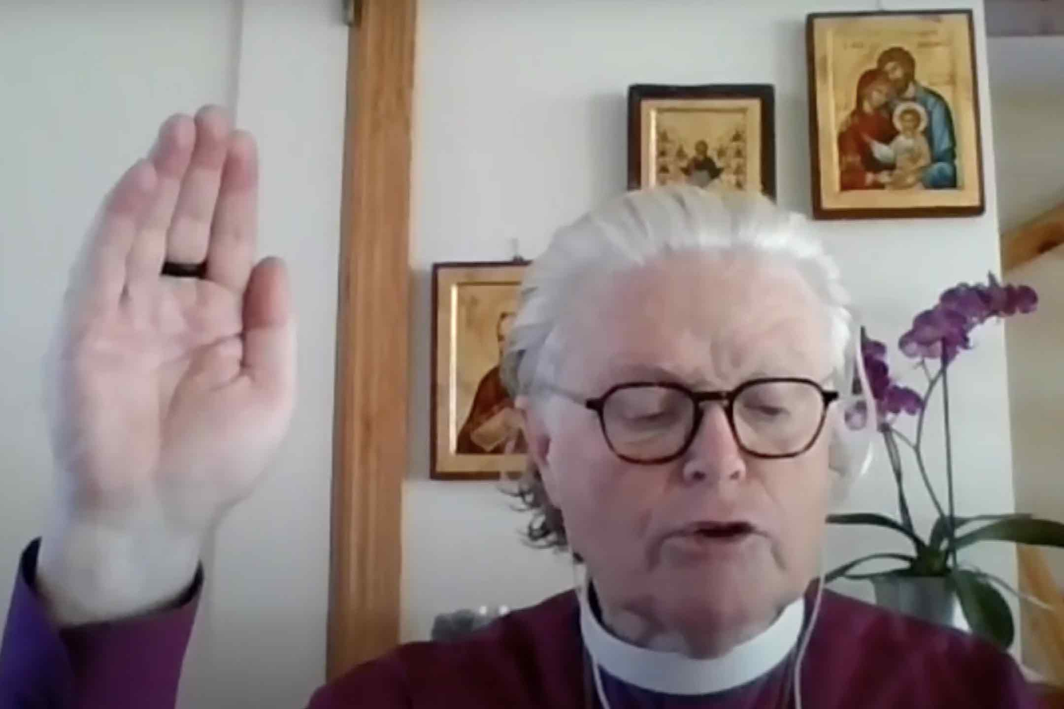 Message for Maundy Thursday from Bishop Tor