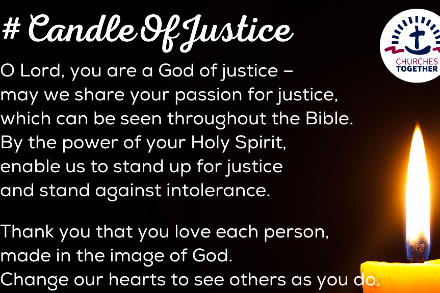 Candle of Justice: a moment of action on 25 May