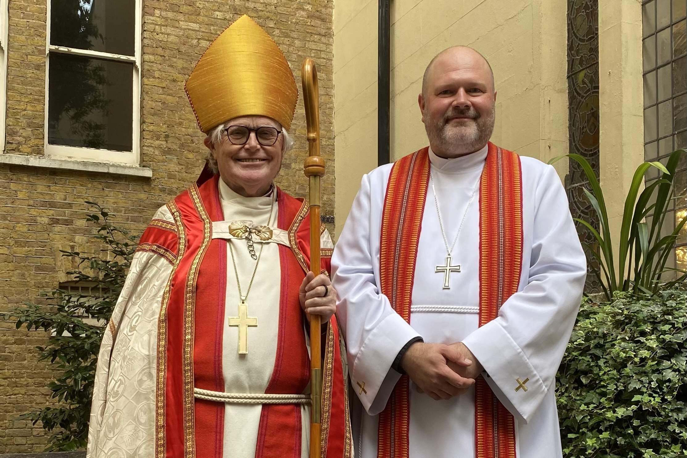 Bishop Tor ordained Meelis Süld to the priesthood
